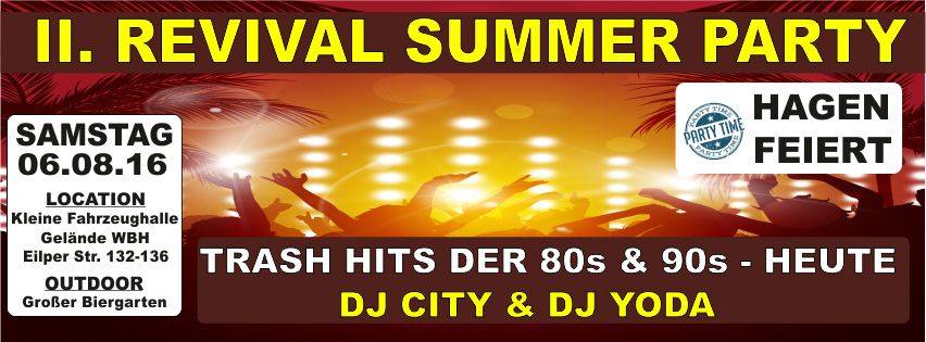 Banner Revival Summer Party